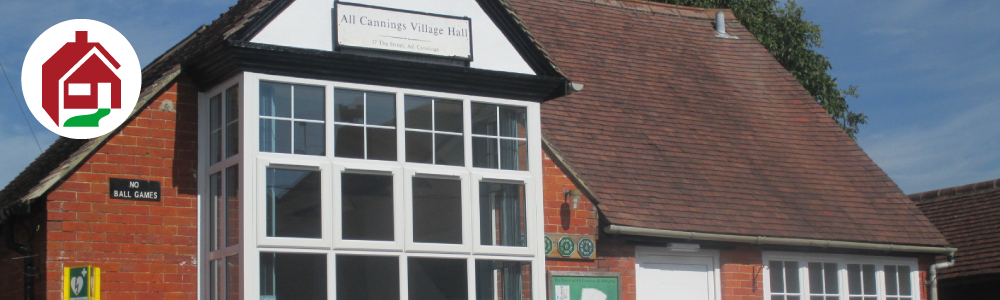 All Cannings Village Hall Banner